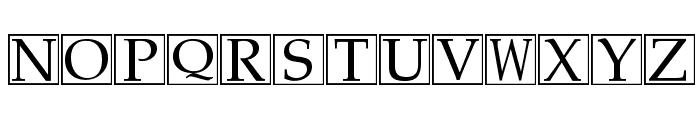 KensingtonTest Regular Font UPPERCASE