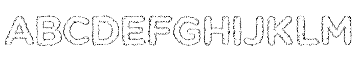 Kent SF Font UPPERCASE