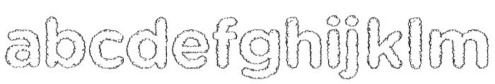 Kent SF Font LOWERCASE