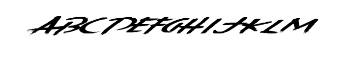 KentuckyBourbon Font UPPERCASE