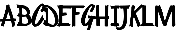 KentuckyFriedChickenFont Font UPPERCASE