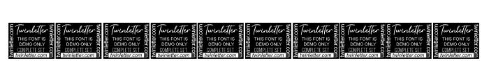 Kentya Personal Use Font OTHER CHARS
