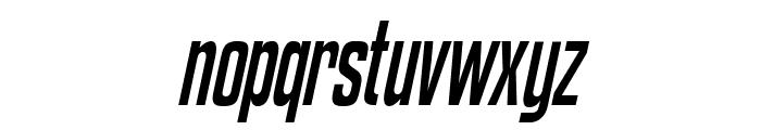 Kenyan Coffee Italic Font LOWERCASE