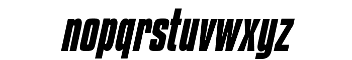 KenyanCoffee-BoldItalic Font LOWERCASE