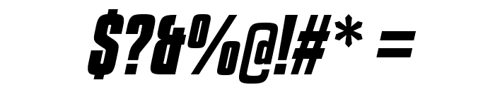 KenyanCoffeeRg-BoldItalic Font OTHER CHARS