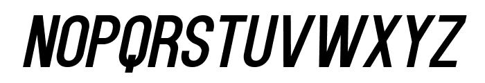 Kenzo-Italic Font UPPERCASE