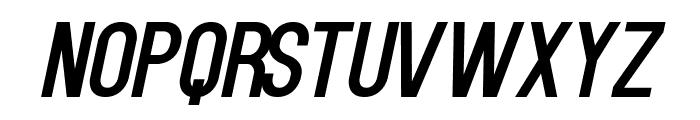 Kenzo-Italic Font LOWERCASE