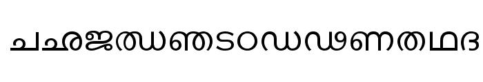 Keralax - Malayalam Font UPPERCASE