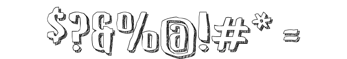 Kerata Font OTHER CHARS