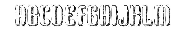Kerata Font UPPERCASE