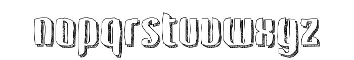 Kerata Font LOWERCASE
