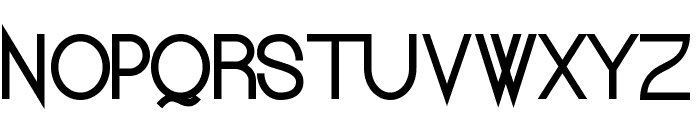 Kerater Medium Font UPPERCASE