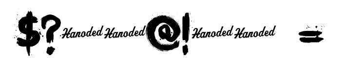 KerberosFang-Demo Font OTHER CHARS