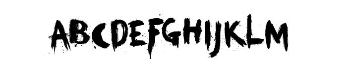 KerberosFang-Demo Font LOWERCASE