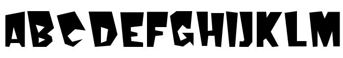 Kerouac Plain Font UPPERCASE
