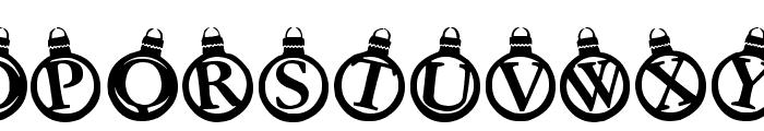 KerstKaarten Font UPPERCASE