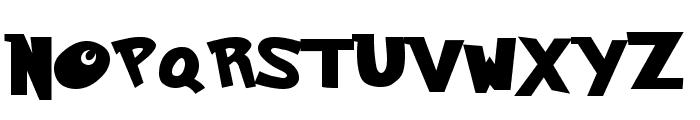 Ketchum Font UPPERCASE