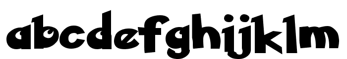 Ketchum Font LOWERCASE