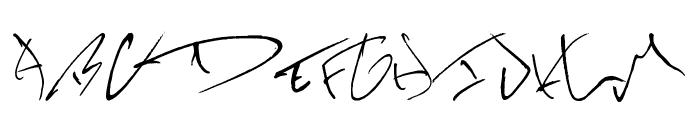 KevinWild Font UPPERCASE