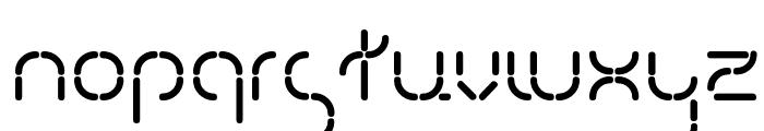 Kevlr Suit Font LOWERCASE