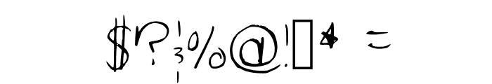 Key Regular Font OTHER CHARS