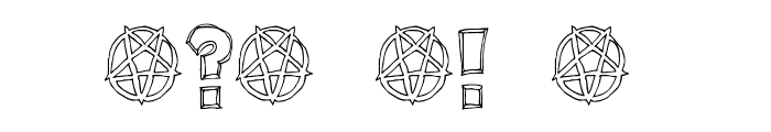 Key Tab Metal Font OTHER CHARS