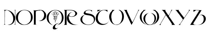 Key West Font UPPERCASE