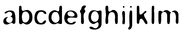 Keyes Font LOWERCASE