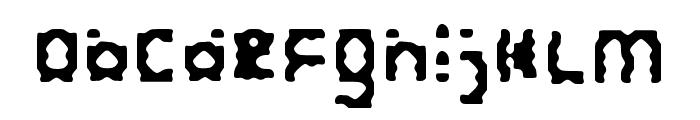 Keyhole Regular Font LOWERCASE