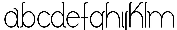 Keyla Font LOWERCASE
