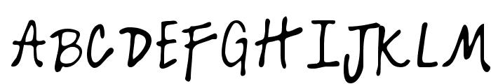 Kelly Regular Font UPPERCASE
