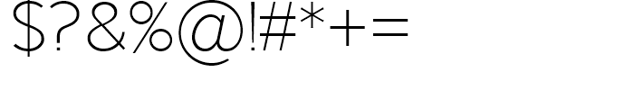 Keep Calm Light Font OTHER CHARS