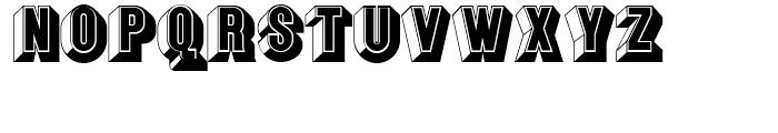 Keepon Truckin NF Regular Font UPPERCASE