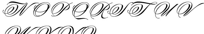 Keepsake Fill Font UPPERCASE