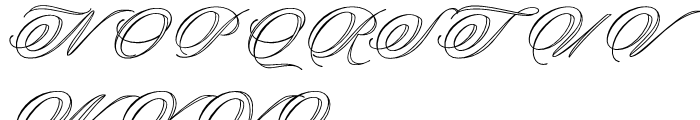 Keepsake Open Font UPPERCASE