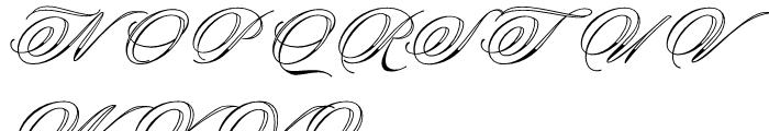 Keepsake Regular Font UPPERCASE