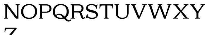 Kelvingrove Regular Font UPPERCASE