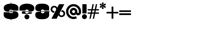 Kenwyn Single Dot Font OTHER CHARS
