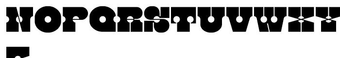Kenwyn Single Dot Font UPPERCASE