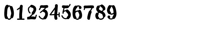 Kerndog Regular Font OTHER CHARS