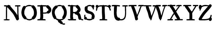 Kerndog Regular Font UPPERCASE