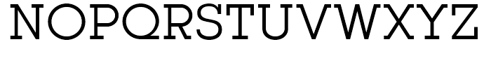 Kettering 105 Book Font UPPERCASE