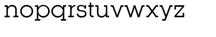 Kettering 105 Book Font LOWERCASE