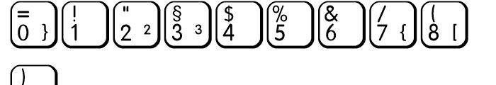 Keys Regular Font OTHER CHARS