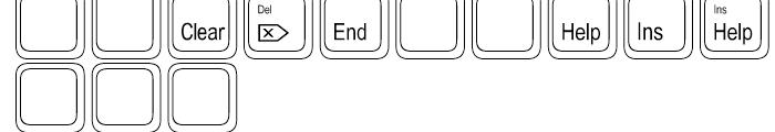 Keystrokes Extra Font UPPERCASE