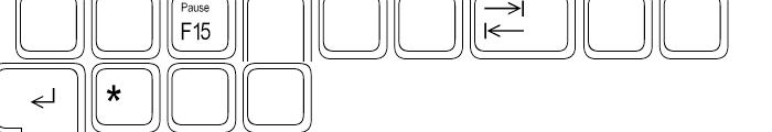 Keystrokes Extra Font LOWERCASE