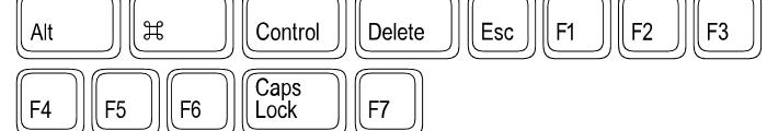 Keystrokes Regular Font LOWERCASE