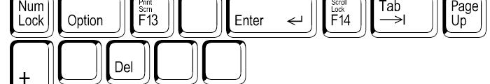 Keystrokes Shadow Extra Font UPPERCASE