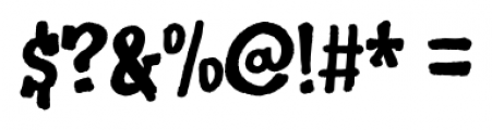 Keep writing letters Regular Font OTHER CHARS