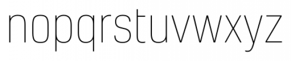 Kelson Thin Font LOWERCASE